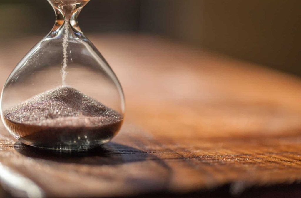 Time is running out to procrastinate!